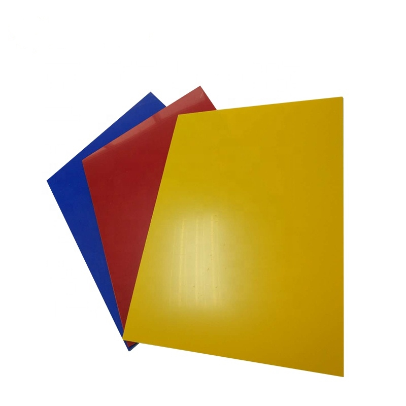 Electroplate ABS sheet