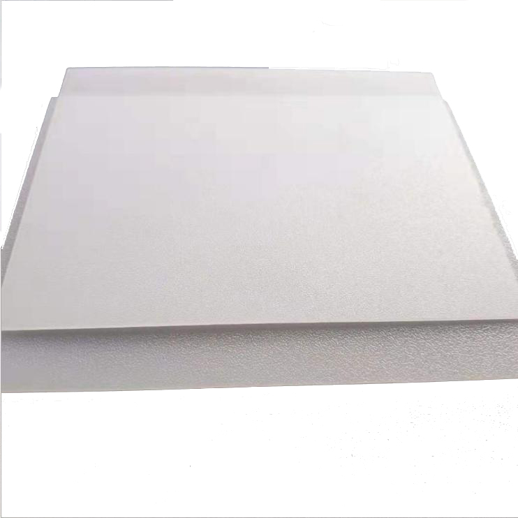 PS diffuser sheet with frosted on both sides